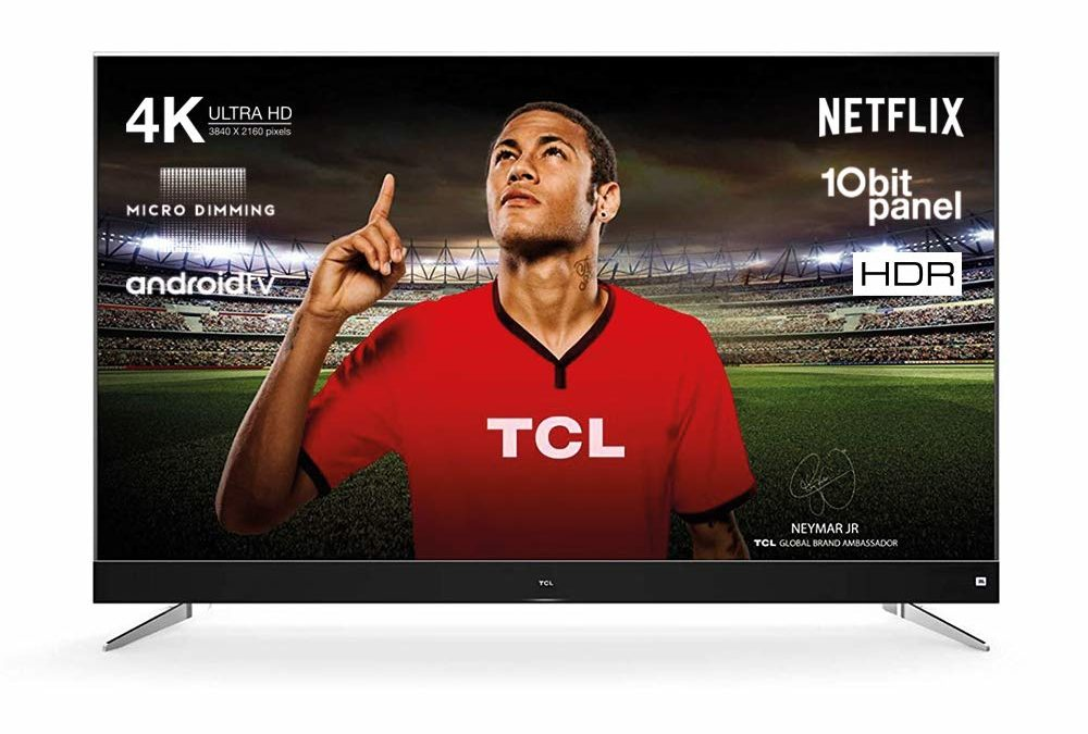694,68€ TCL U65C7006 165 cm (65 Zoll) Fernseher (Ultra HD, HDR10, Android TV, JBL by Harman Soundsystem)