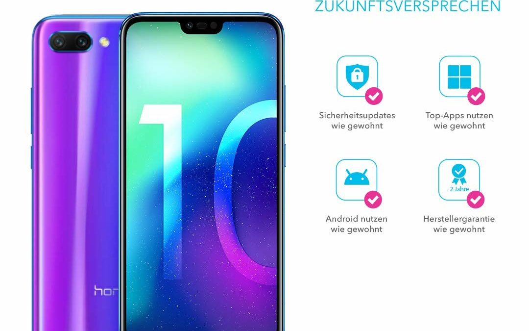 269€ Honor 10 Smartphone 128GB
