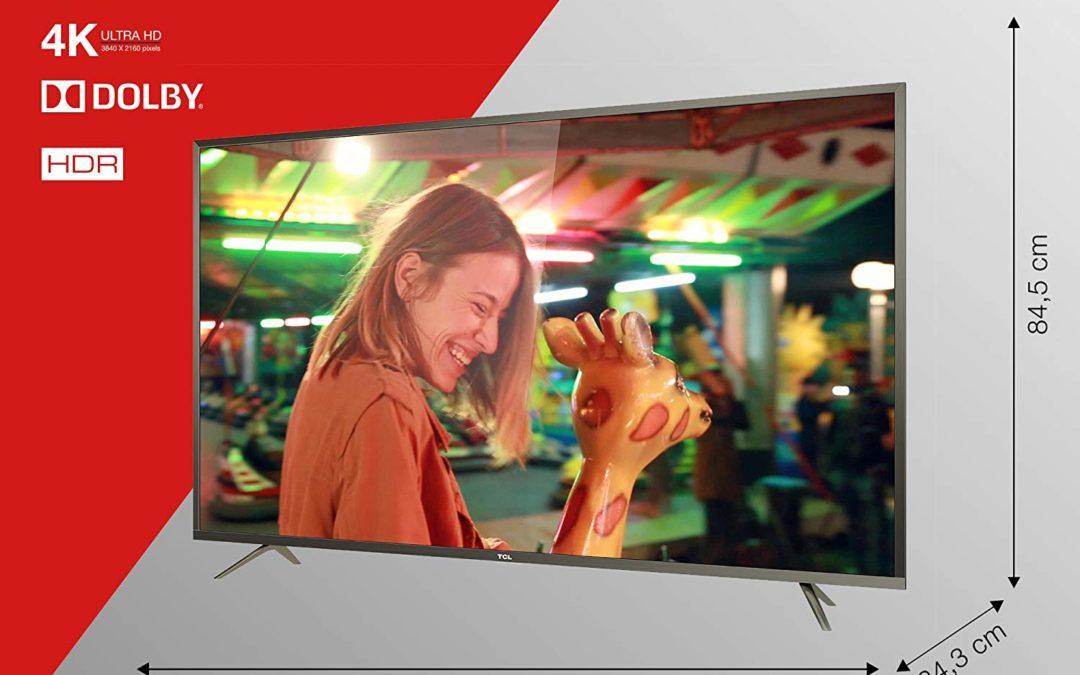 432,29€ TCL U60P6026 152 cm (60 Zoll) Fernseher (4K UHD, Triple Tuner, Smart TV)
