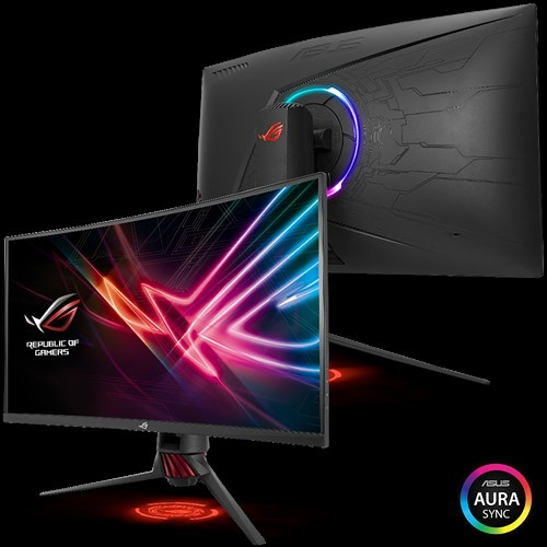 "554€ ASUS ROG STRIX XG32VQR, Freesync 2, 32"", 144Hz, WQHD, Curved"