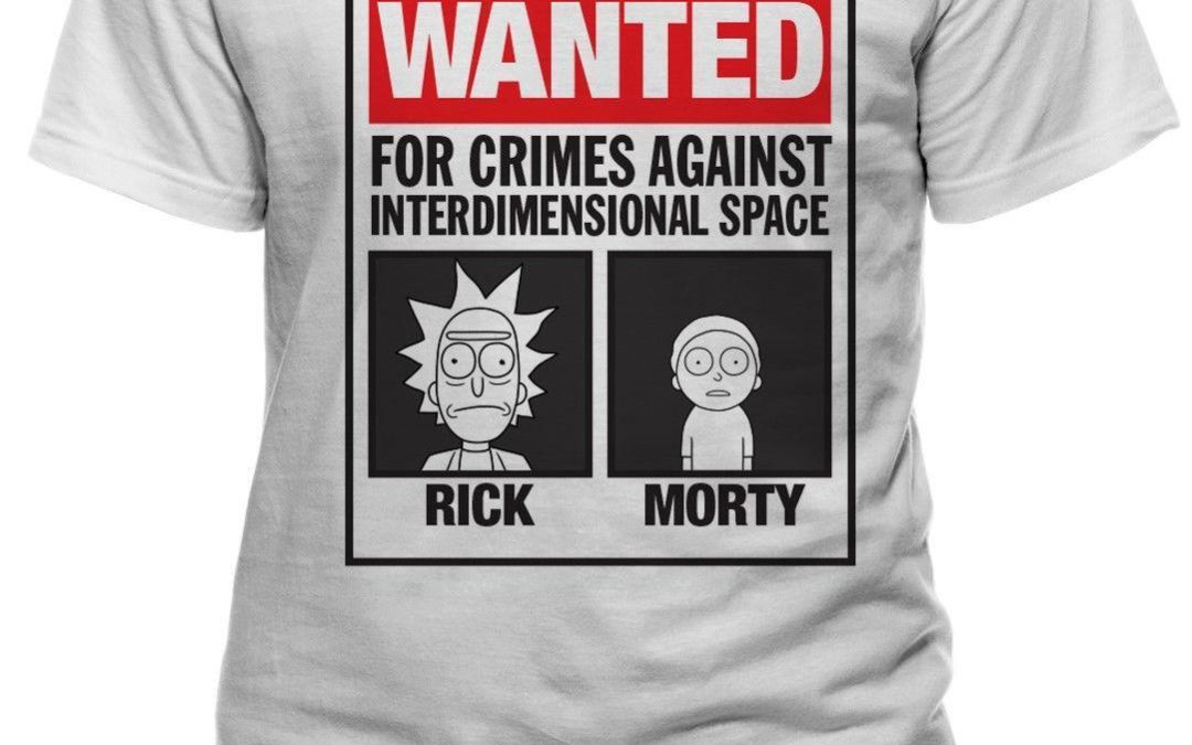 12,74€ Offizielle Rick and Morty T-Shirts 25% reduziert