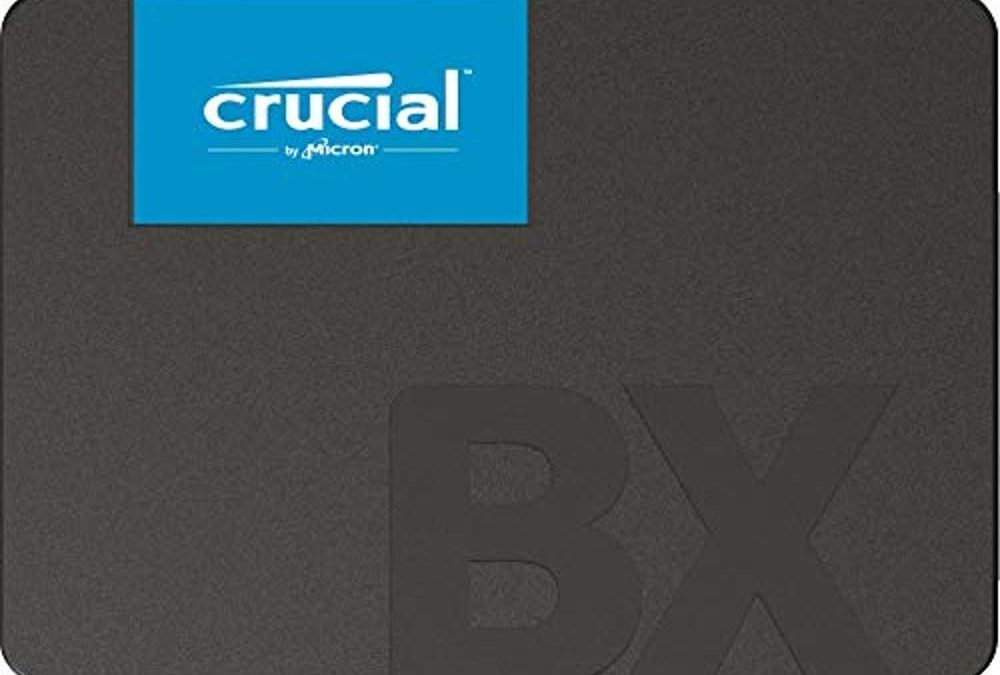 Beendet – 88€ Crucial BX500 CT960BX500SSD1 960 GB Internes SSD (3D NAND, SATA, 2, 5-Zoll)